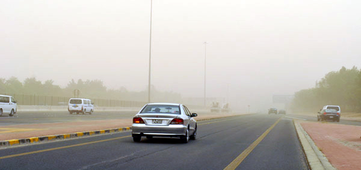 KUWAIT : The weather during the weekend will be dusty due to the moderate  and active winds, said the official at the Kuwait Meteorological Department  ...